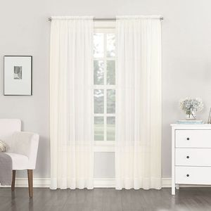 No 918 Sheer Curtain Panel